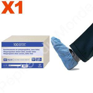 6ce33f1feb19c8 CHAUSSURES MEDICALES SURCHAUSSURE jetable non tissé non stérile Bleue P