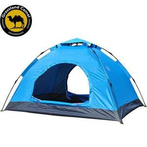 TENTE DE CAMPING  Tente Festival Fun 3-4 places tissu Oxford