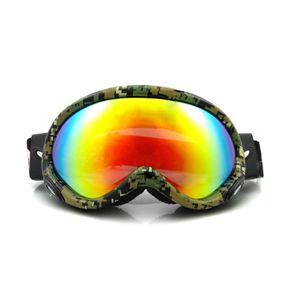 b9c4b2f6470de0 Placage anti-buée des lunettes de ski Cocker myopie coupe-vent des lunettes  de soleil de montagne