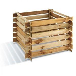 COMPOSTEUR - ACCESSOIRE Composteur bois 700 L