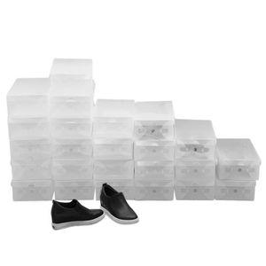 MEUBLE À CHAUSSURES Boîte en plastique claire - Boîte de chaussure- Ca
