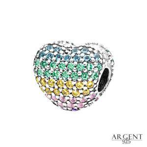 Charm's Charms Clip Compatible Pandora Bracelet Argent 925