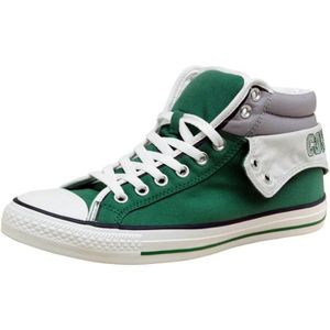 CONVERSE ALL STAR LIMITED DOUBLE UPPER TOILE VERT - GREEN NEON rSVLhJoa1V