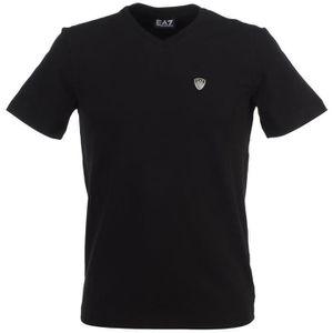 T-shirt EA7 Train Evo Plus M Tee St - 6YPT79PJ20Z1100 Blanc Blanc ... 3f037b1efe0