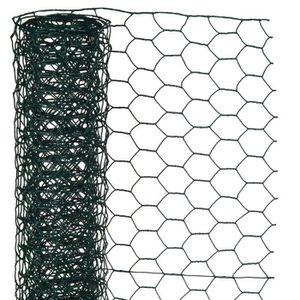 CLÔTURE - GRILLAGE Grillage H0,5xL5m en maille hexagonale acier galva