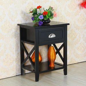 table de chevet 30 cm achat vente table de chevet 30 cm pas cher soldes d s le 10 janvier. Black Bedroom Furniture Sets. Home Design Ideas