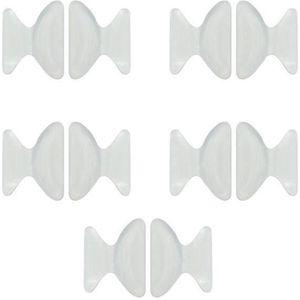 SUPPORT POUR LUNETTES 5 paires de Coussinet Silicone de Lunettes Antidér c2efcb369009