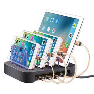 CHARGEUR TÉLÉPHONE Universelle Station de Charge 4-Ports USB Multifon