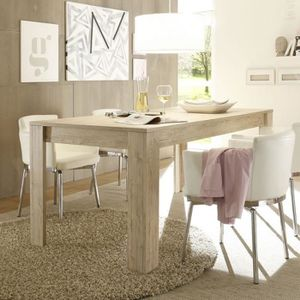 Table chene clair - Achat / Vente pas cher