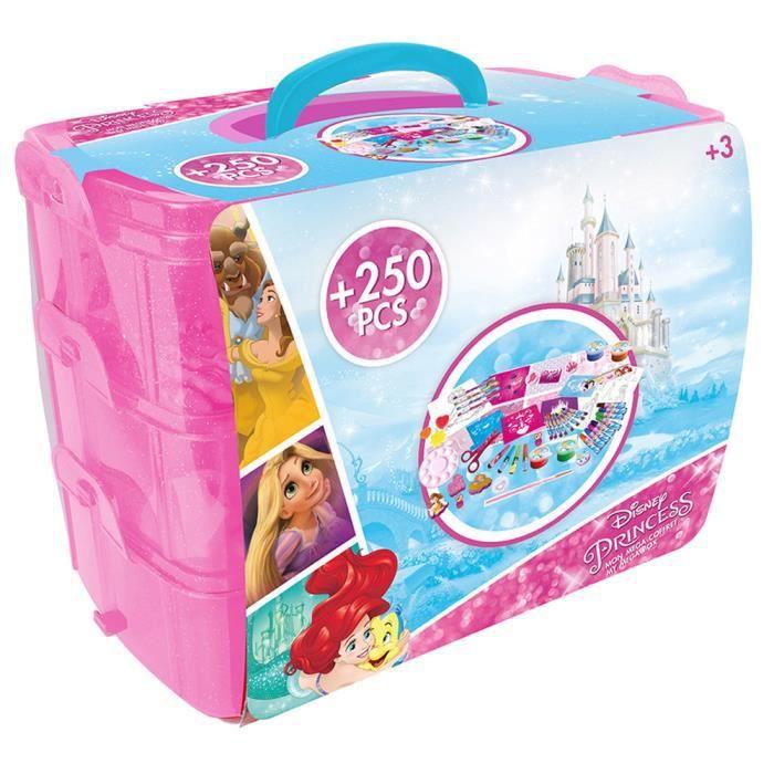 Coffret 250 pièces : Princesses Disney aille Unique Coloris Unique