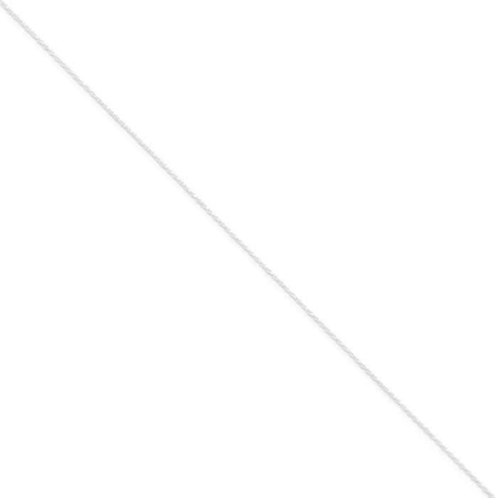 Argent Sterling 6 mm-Chaîne 18