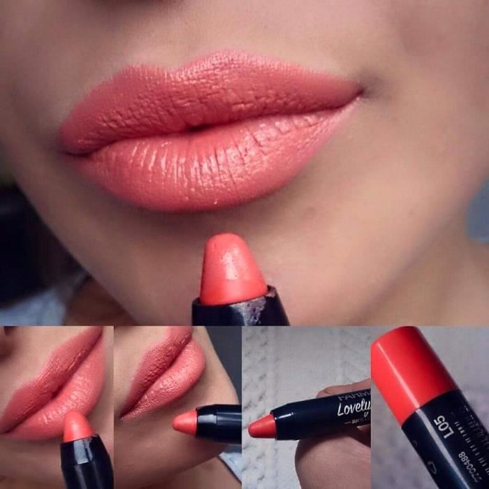 f7a533fca0b7b0 ROUGE A LEVRES LOVELY 05 CORAIL - Achat   Vente rouge a lèvres ROUGE ...