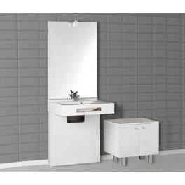 Meuble de salle de bain pmr simple vasque nap achat for Vendeur de salle de bain