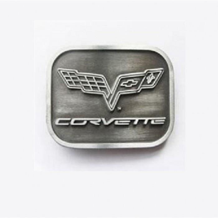 641447047cf1 Boucle de ceinture chevrolet corvette alu logo drapeau mixte - Achat ...