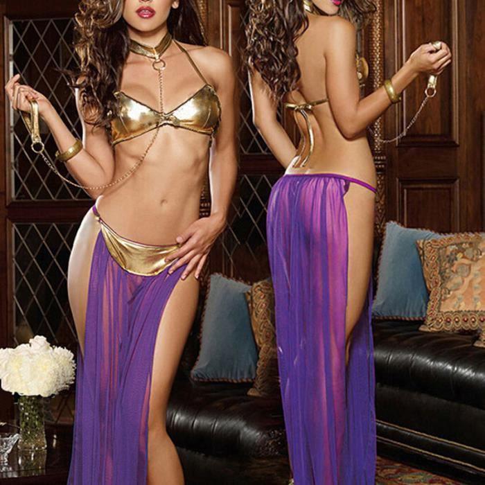 Femme Robe noir vêtements Nuit Sexy Rouge De violet Lingerie Sous nTO8qdWIdx