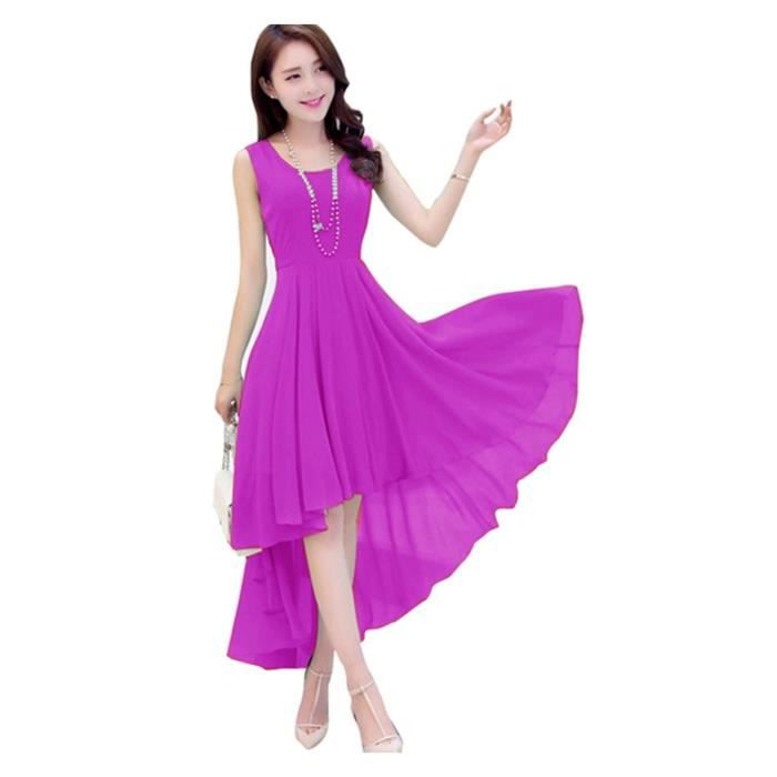 Womens Georgette One Piece Dress For & Girls JSIOO Taille-34