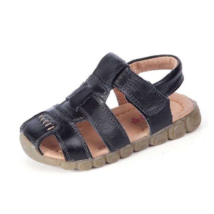 Filles sandales occasionnels garçons pour enfants enfants d'été chaussures sandales chaussures de plage en plein air autocollants