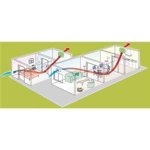Extracteur d air salle de bain achat vente extracteur for Extracteur d air 80 mm