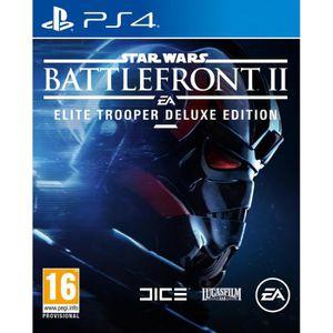 JEU PS4 Star Wars Battlefront 2 Edition Deluxe Soldat d'El