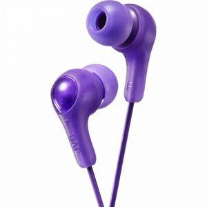 CASQUE - ÉCOUTEURS JVC HAFX7V Écouteurs Gumy Plus In Ear - Violet