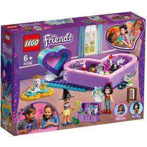 ASSEMBLAGE CONSTRUCTION LEGO® Friends 41359 La boîte des cœurs de l'amitié