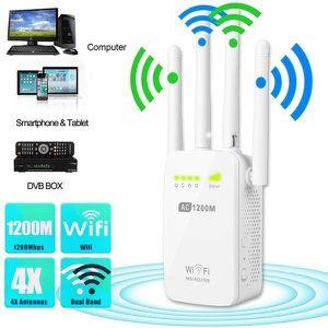 CARTE RÉSEAU  Moonmini®2.4GHz - 5GHz double WiFi bande répéteur