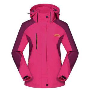 BLOUSON DE SKI Alpinisme femme adventure veste manches longues à