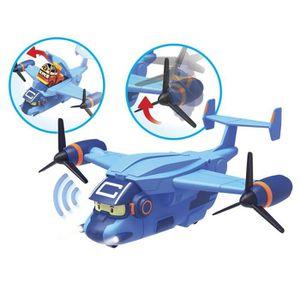 UNIVERS MINIATURE ROBOCAR POLI - Avion de Transport Pour Les Mini-Vé