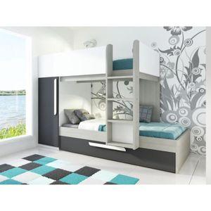 lit superpos avec tiroir enfant achat vente lit superpos avec tiroir enfant pas cher. Black Bedroom Furniture Sets. Home Design Ideas