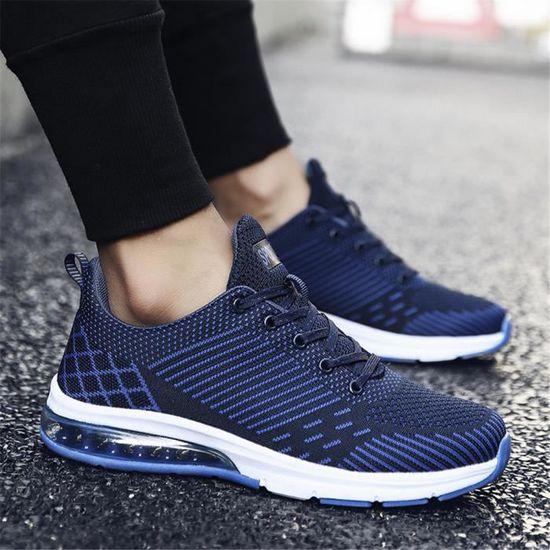 Sneakers Homme Antidérapant simple  Respirant Classique exquis / Bleu Bleu - Achat / exquis Vente basket f0e2f4
