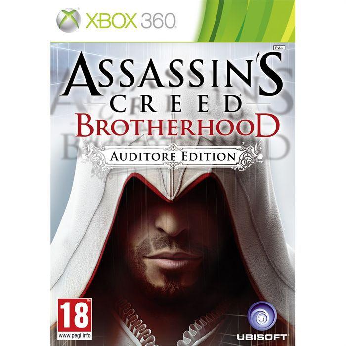 JEU XBOX 360 ASSASSIN'S CREED BROTHERHOOD AUDITORE / Jeu X360