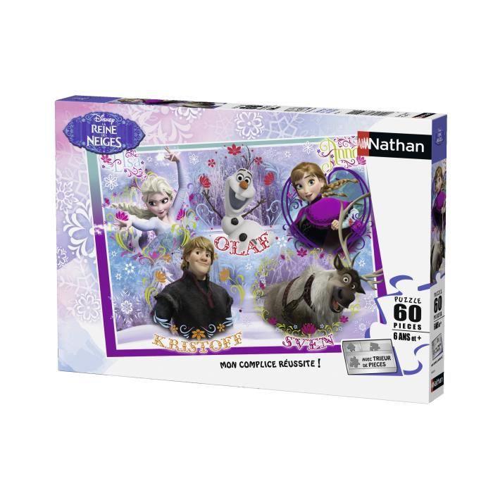 LA REINE DES NEIGES Puzzle Royaume Arendel 60 pcs - Disney