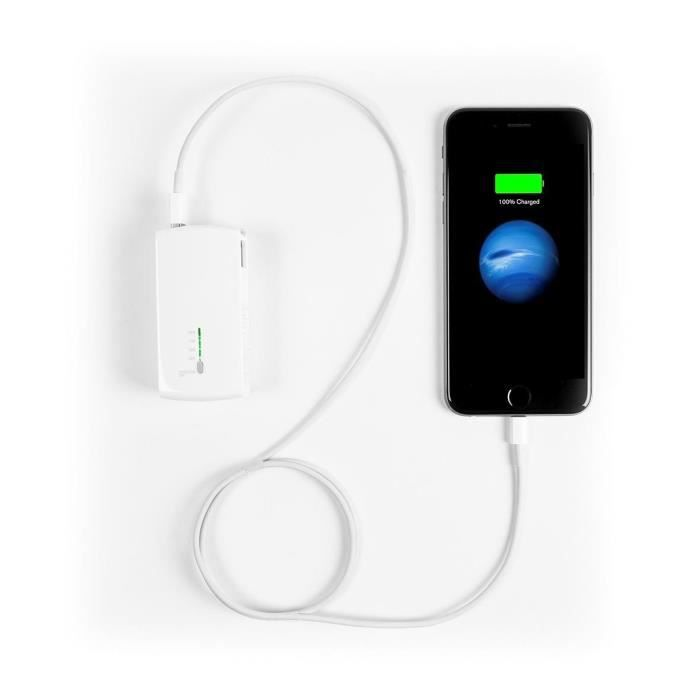 TARGUS Chargeur USB 2en 1 Prise murale & Prise d'alimentation pour notebook - Blanc