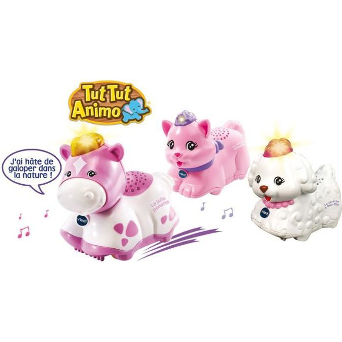 VTECH - TUT TUT ANIMO - Coffret Trio Coquettes