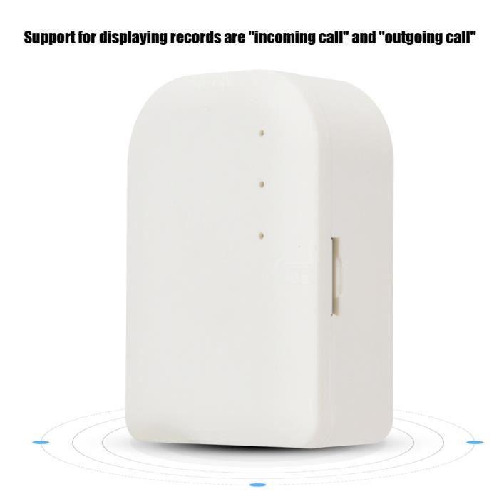 Enregistreur Vocal Audio De Moniteur Téléphonique Automatique Professionnel Bureau À La Maison