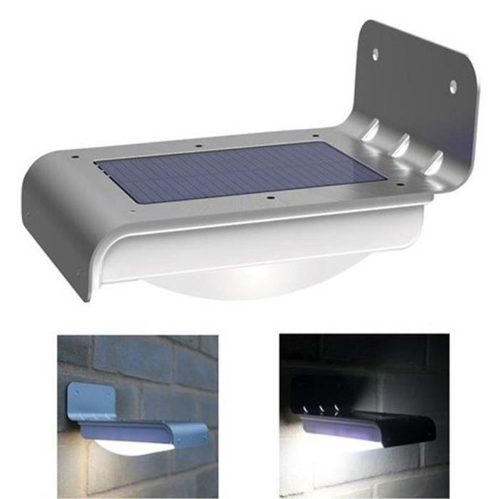 De Détecteur Elisona® Solaire Étanche Extérieur Avec Mouveme Led Lampe zMVLqpGSU