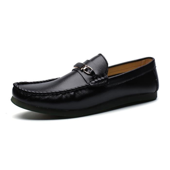 Chaussures Homme Bateau en daim Chaussures de ville Chaussures plates Confortables et légères oYrrfgfyF