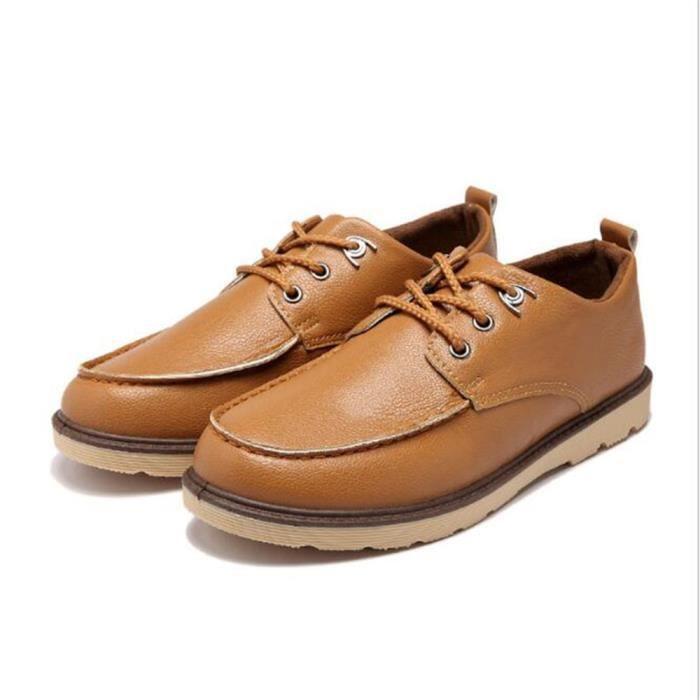 Chaussures homme En Cuir dentelle Moccasin Marque De Luxe Nouvelle Mode 2017 ete Chaussure hommes Grande Taille Moccasin Cuir wJZHtxPDk