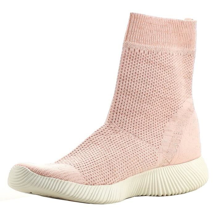 Breathable Stretch Textured Sole Sock Boot UZUX6 Taille-37