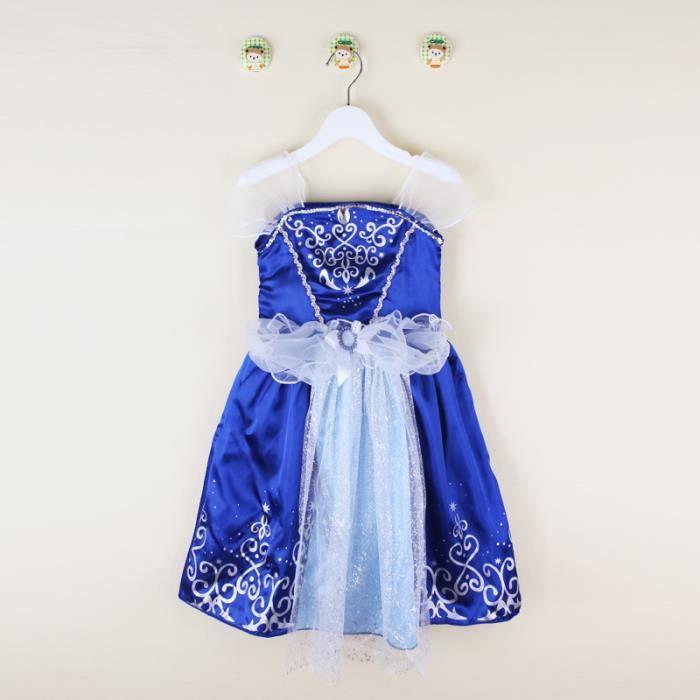 a703936898a 3-10 Ans Enfant Fille Robe de Princesse Tenue de Déguisement Cadeau ...