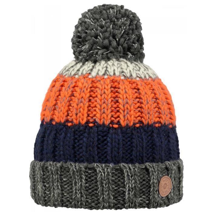 1f96db60924 BARTS - Bonnet orange à pompon enfant garçon du 3 au 10 ans barts ...