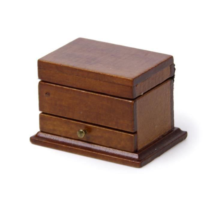 1-12 Boite a bijoux Maison de Poupee Miniature