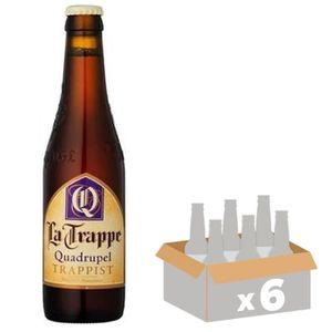 BIÈRE BRASSERIE LA TRAPPE Quadruple - Bière Ambrée - 33