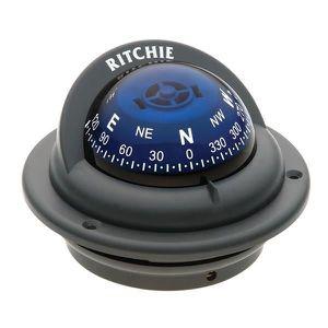 COMPAS - SEXTANT RITCHIE Compas Trek Gris Rose Cônique Bleue 57 mm