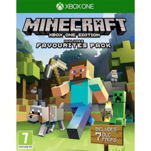 JEU XBOX ONE Minecraft : Les Packs Préférés des Fans Jeu Xbox O