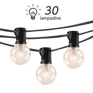 GUIRLANDE D'EXTÉRIEUR  LOFTer Guirlande Lumineuse Exterieur 30 Ampoules