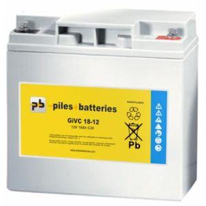 BATTERIE VÉHICULE Batterie plomb étanche Gel GiVC12-18 12V 18Ah pour