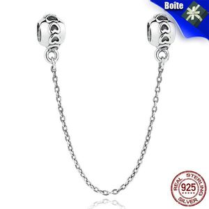 Charm's BAMOER Charms Argent 925 Amour Connection Chaînes