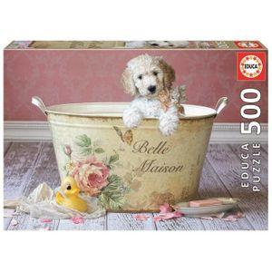 PUZZLE EDUCA Puzzle 500 Pièces - Belle Maison Lisa Jane