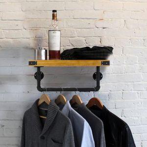 etagere style industriel achat vente pas cher. Black Bedroom Furniture Sets. Home Design Ideas